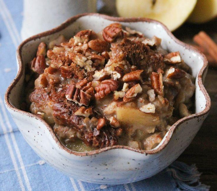 Apples Pies Oatmeal, Apple Pie Oatmeal, Crock Pots, Slow Cooker Apple ...