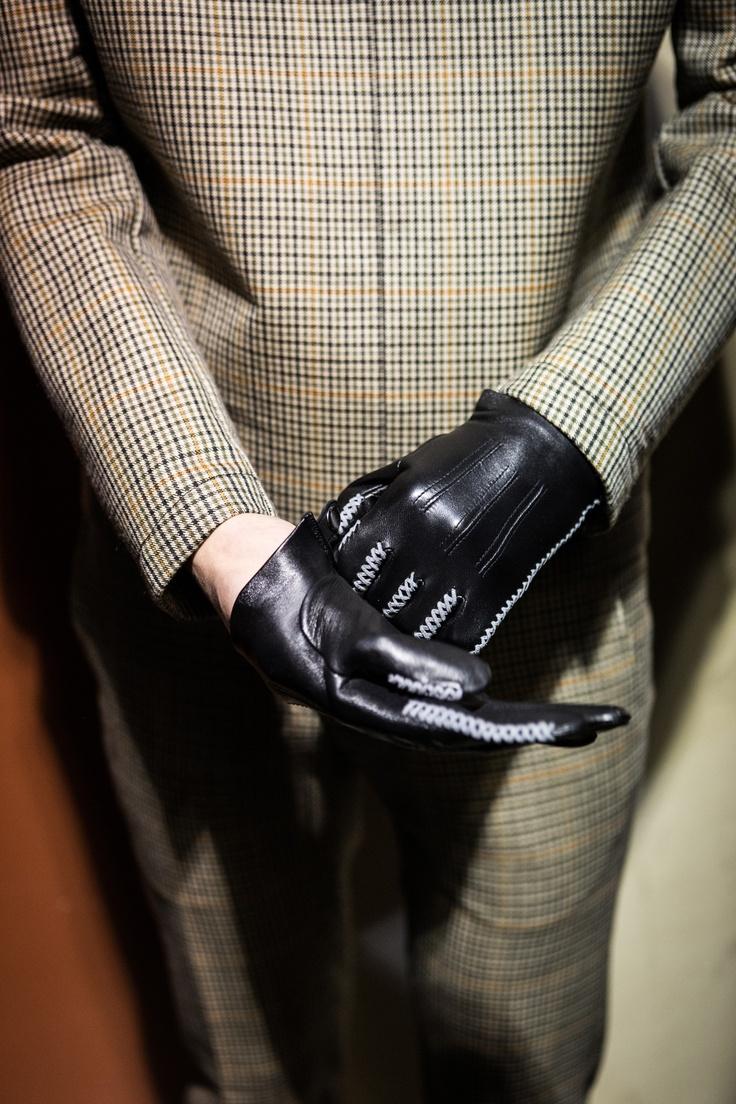 Gaspar leather driving gloves - Lanvin Luxury Menswear Lanvin Presentsleather Glovesparis
