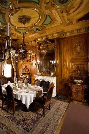 Portland Victorian Mansion | Victorian: #Victorian dining room, Victoria Mansion, Portland, Oregon ...