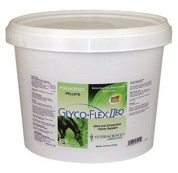 GLYCO-FLEX II EQ 120 Servings (5.55 lbs) by Glyco-Flex. $69.99. Glyco Flex is recommended to support proper joint function and connective tissue health in older horses or those that have moderate need for joint support.. GLYCO-FLEX II EQ 120 Servings (5.55 lbs) for horses (Joint and Connective Tissue Support)Glyco Flex is recommended to support proper joint function and connective tissue health in older horses or those that have moderate need for joint support.Directions For U...