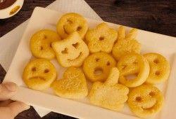 Llegan las patatas fritas con forma de emojis