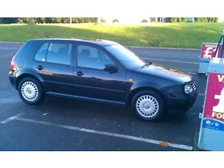 vw golf 1.9 tdi se black 4 door lots of service tax and mot Mapperley Picture 2