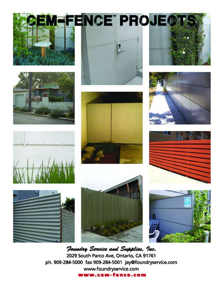 Cbf Cement Board Fabricators Residential Projects: 10 Best Cement Board Fences Images On Pinterest