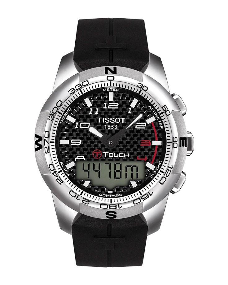 Ρολόι TISSOT T-TOUCH ΙΙ Titanium Chronograph T0474204720700