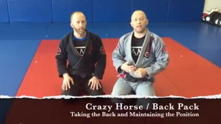 Crazy Horse Back Mount BJJ Game - Help Your Kid Learn Jiu Jitsu! Crazy horse or Back Pack game is a way for kids to learn how to take their partners back and maintain this position, because it is a dominant position in Brazilian Jiu Jitsu. Join Professor's Rob and Guy as they demonstrate how you can do crazy horse with your little champion. See the video for more details and safety tips. #videogamestips