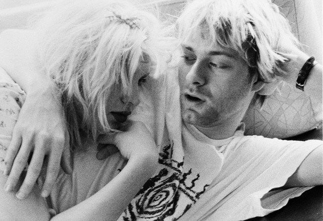 Kurt Cobain and Courtney Love http://fashiongrunge.com/2013/07/07/inspiration-trouble-in-pairs/