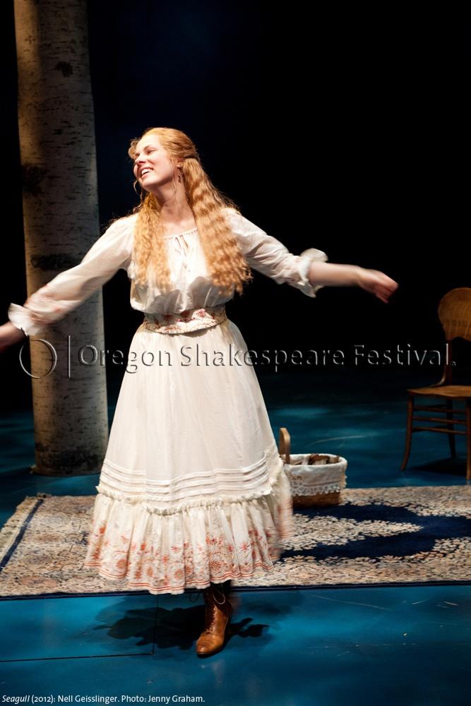 Oregon Shakespeare Festival. SEAGULL (2012): Nell Geisslinger. Photo: Jenny Graham.