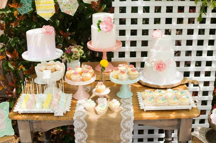 Little Big Company | The Blog: Sofia's Garden Party by 3's A Party Candy Buffets and Party Supplies