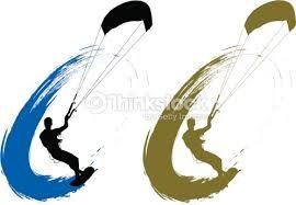 """Résultat de recherche d'images pour """"kitesurf silhouette"""""""