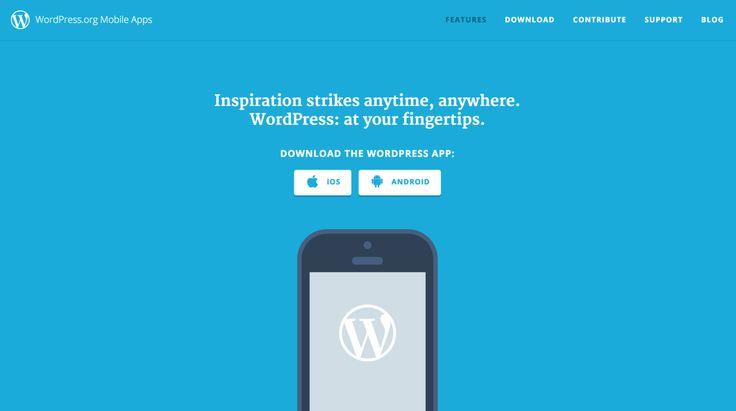 Atualize seu site ou blog de qualquer lugar com o aplicativo do WordPress para iOS e Android