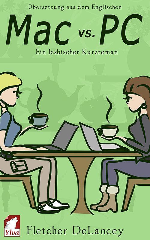 """""""Mac vs. PC"""" by Fletcher DeLancey / Als IT-Fachfrau an der Universität bekommt Anna täglich Nummern zugesteckt – von Leuten,  die denken, ihr Rat sei kostenlos zu haben. Nur Elizabeth hilft sie freiwillig, als diese in einem  Coffeeshop an ihrem Laptop verzweifelt. Zwischen den Frauen entwickelt sich eine innige Freundschaft und mehr – bis Anna herausfindet, dass Elizabeth in der universitären Nahrungskette weit über ihr steht. (Veröffentlichungsdatum: Oktober 2015)"""