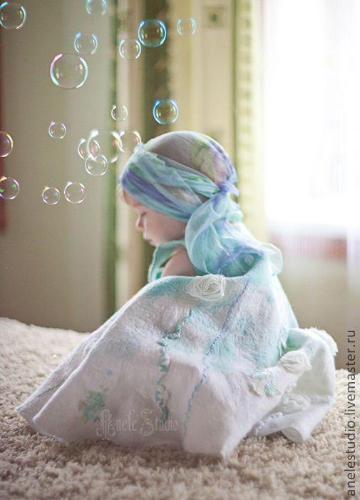 Купить Зефирка, платье для девочки - платье для девочки, нарядное платье, подарок для девочки, нарядный сарафан