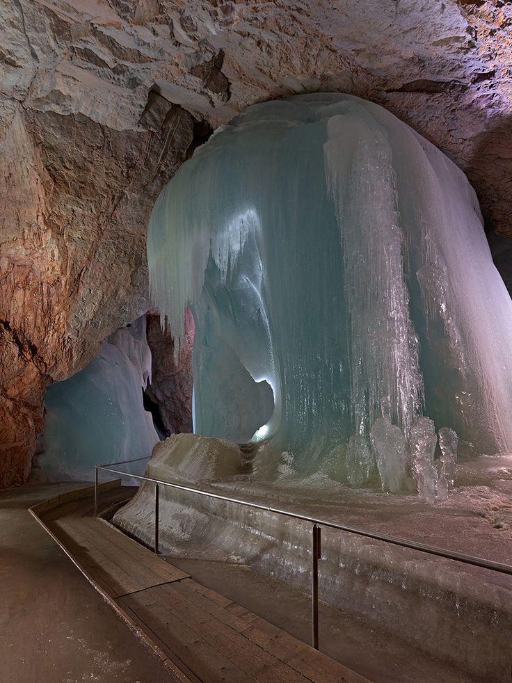 Eisriesenwelt Ice Cave; short trip from Salzburg, Austria ...