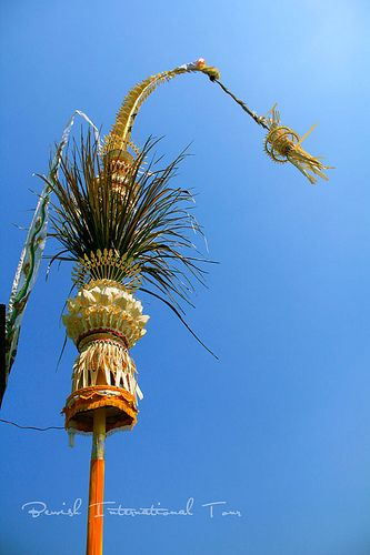 Penjor, Balinese Decoration