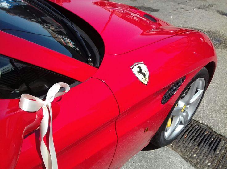 Ferrari California T: un Pizzico di Magia in più per il Vostro Matrimonio!!!
