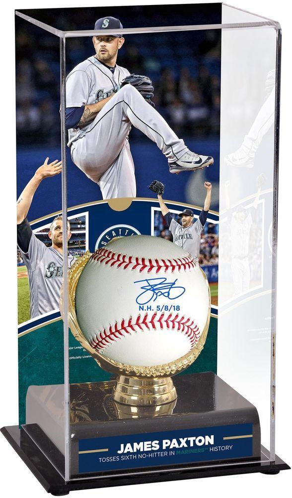 James Paxton Mariners Signed Baseball Nh Insc No Hitter