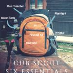 Cub Scout Six Essentials for Hiking