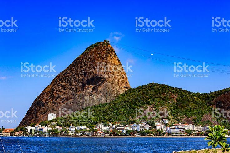 Rio de Janeiro, Brazil -  the iconic Sugar Loaf Mountain royalty-free stock photo
