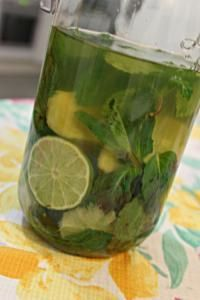 Rhum Gingembre, Menthe & Citron Vert - Recette, préparation et conseils sur Rhum arrangé .fr