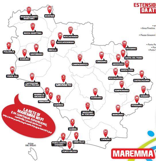 Maremma WiFi. the free net in Maremma. #maremma #tuscany