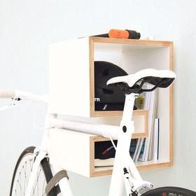 Kappô Fahrrad Wandhalterung- weiss - MIKILI