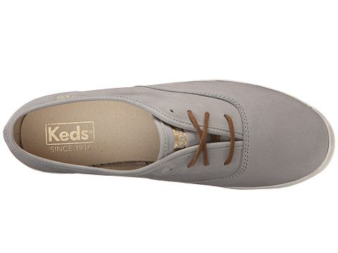 Keds Champion Washed Leather Women's Lace up casual Shoes