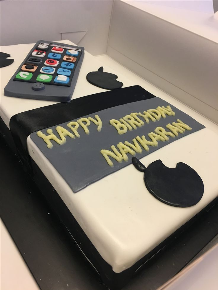 Cake for a iPhone lover