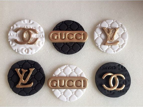 Hey, I found this really awesome Etsy listing at https://www.etsy.com/listing/253041601/high-fashion-toppers-gucci-cupcakes