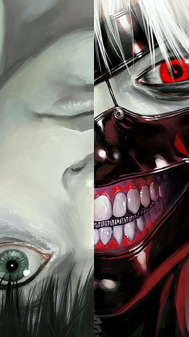 Tokyo Ghoul - Kaneki kun. I actually have a poster just like this