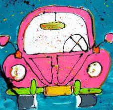 auto schilderij - Google zoeken