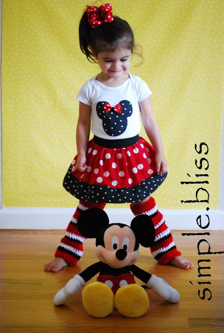 idea for DIY minnie mouse costume