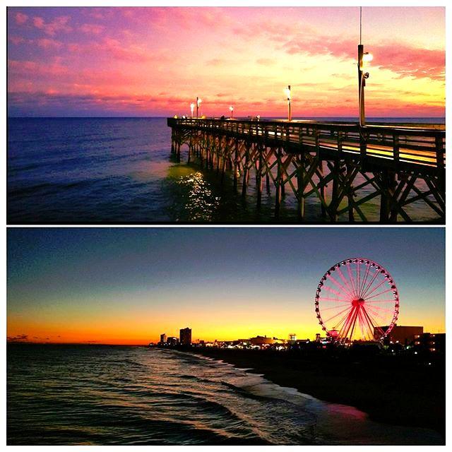 Pier 14 - Myrtle Beach, South Carolina (Photo via Instagram by@brainsmoke_vhs)