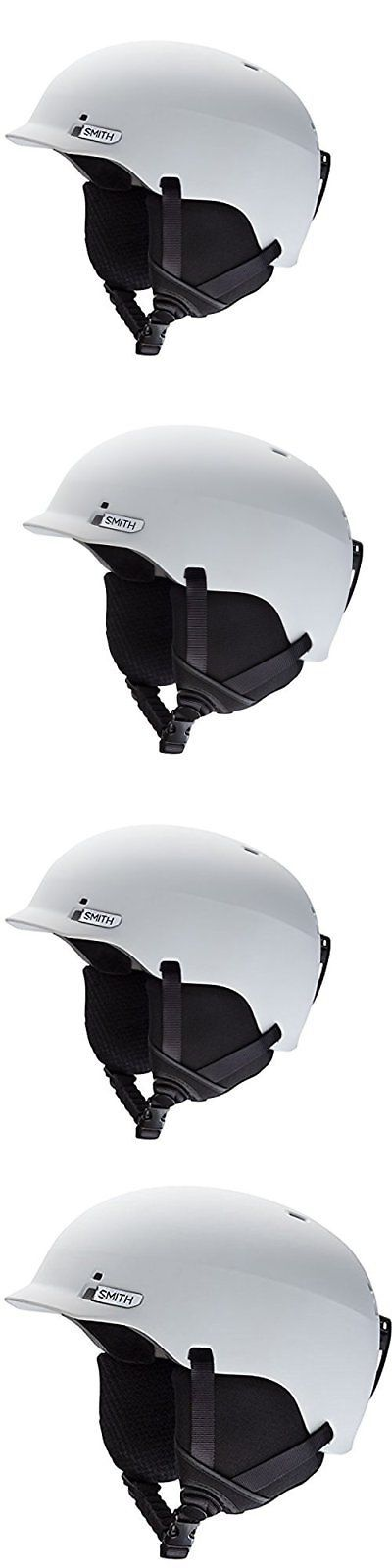 Protective Gear 36260: New Smith Optics Gage Adult Ski Snowmobile Helmet - Matte White Large -> BUY IT NOW ONLY: $64.99 on eBay!