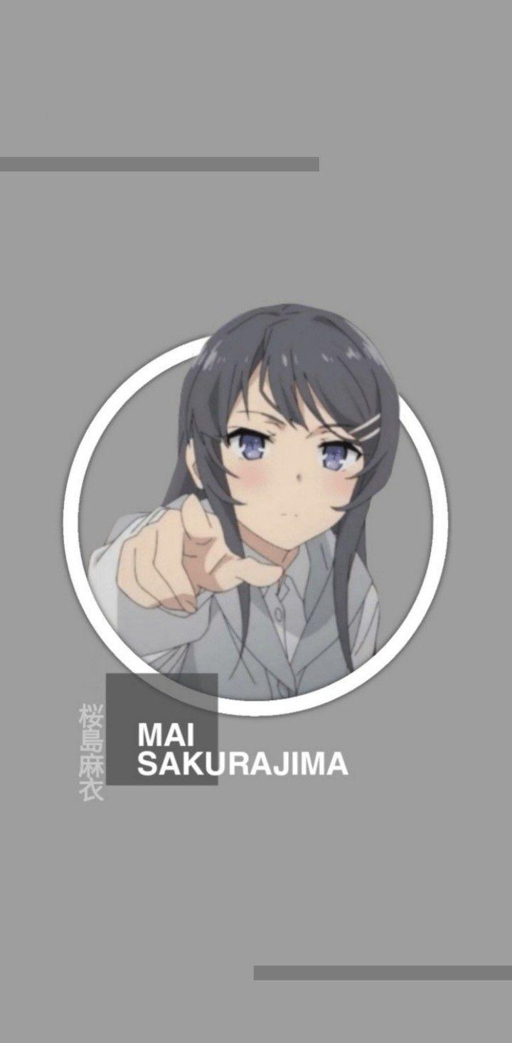 Mai Sakurajima Wallpaper Gadis Animasi Animasi Gambar Anime