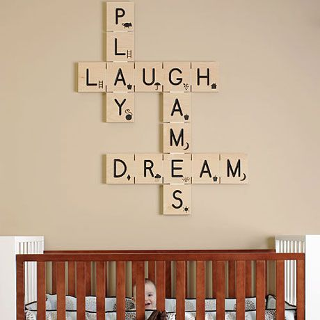 Good and original idea for your wall!