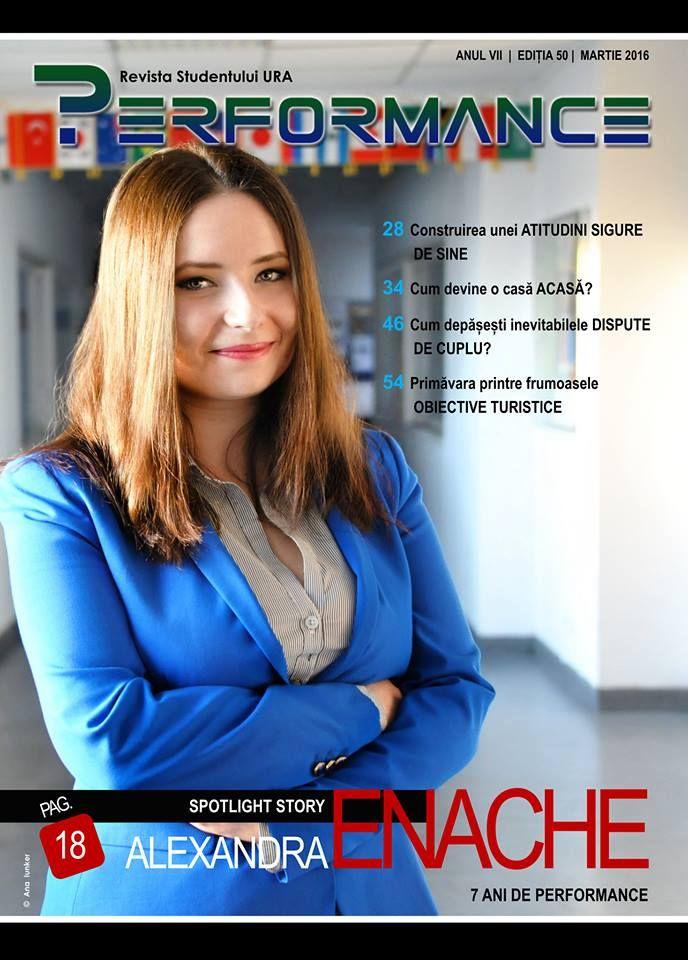 Ediția 50 - MAR 2016, ediție aniversară Performance 7 ANI, te așteaptă cu o mulțime de subiecte interesante emoticon smile  Accesează publicația! http://performance.rau.ro/?page_id=3696