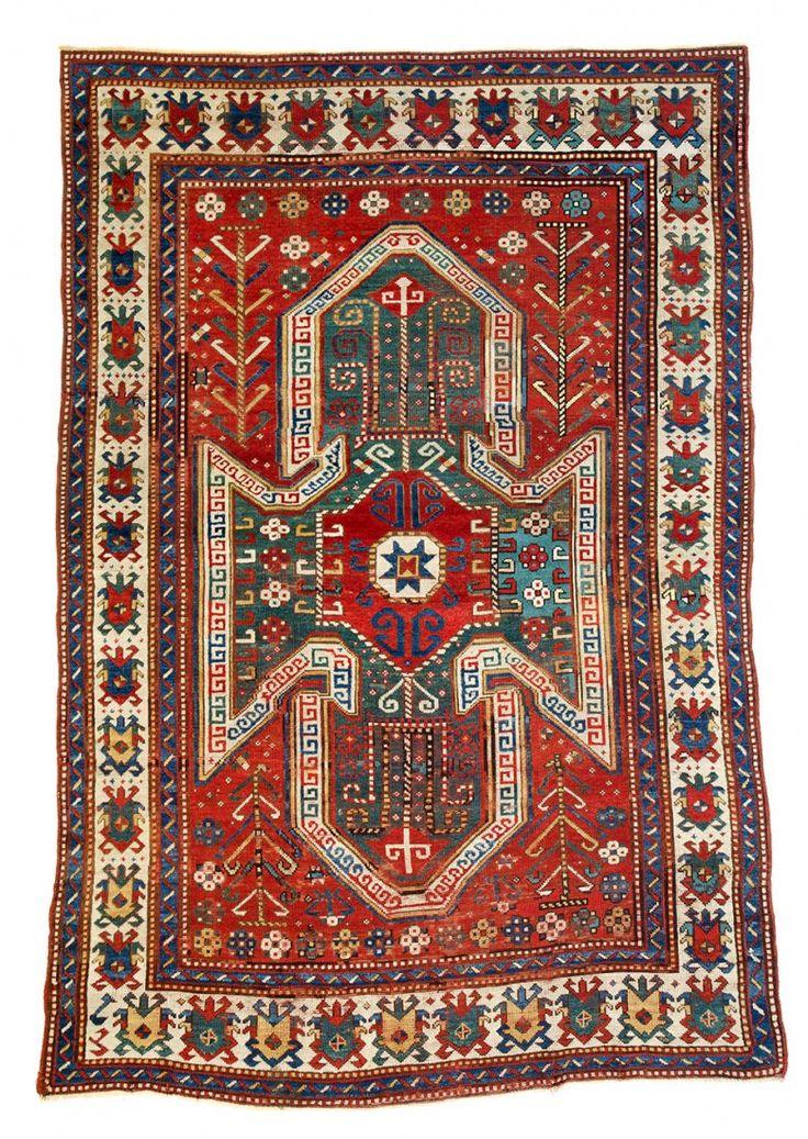 Sewan Kazak 8ft. x 5ft. 7in. Caucasus circa 1860