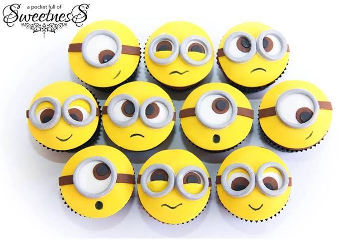 Minion Cupcakes!!! Adorable!!!