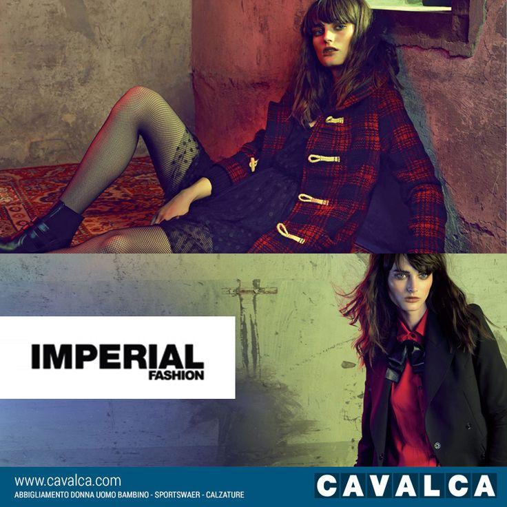 #Imperial è un marchio rivolto a un cliente giovane e informato. L'estetica di strada si mescola ad un glamour creativo e sofisticato con proposte energetiche e positive  #Cavalca #moda #donna #Arcisate