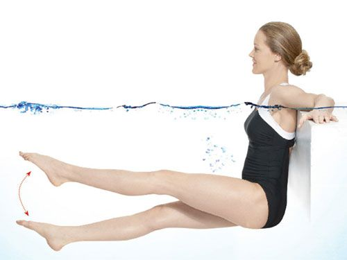 Easy Workouts to Do in the Pool - Fitness Exercises While in the Pool - Good Housekeeping#slide-1#slide-1