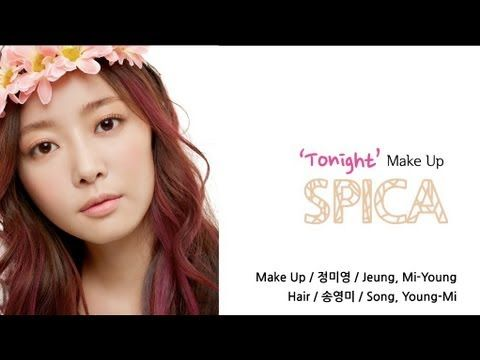 ▶ Celebrity Style#3: 스피카 Tonight 메이크업 - SPICA's M/V Tonight Makeup - YouTube