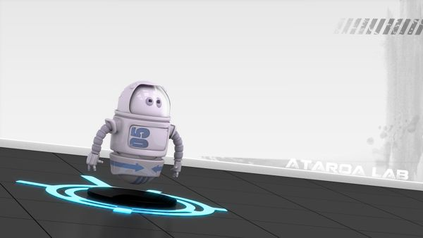 Roundy is a 3D robot modeling project by ATAROA. #robot