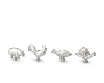 Staub Animal Knobs - I need the fish for the cabin!!!