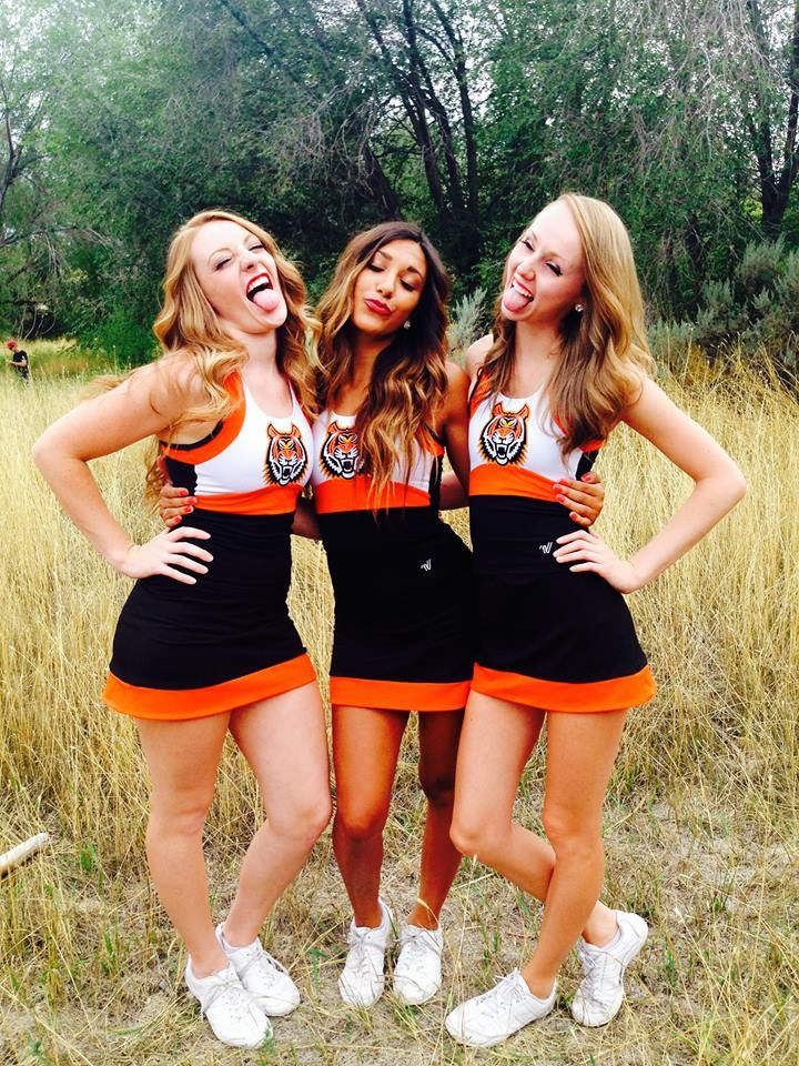 The Idaho State Bengals Make Their College Cheerleader Heaven Debut