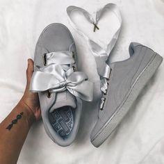 Sneakers women - Puma Heart grey suede (©actually_ashly)
