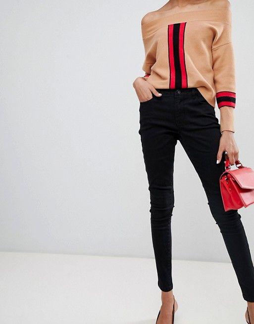 adad0acd8366 Vero Moda skinny jean in black