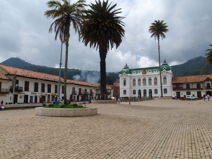Zipaquira Town Square