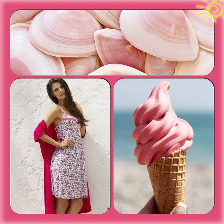 With summer around the corner, capture the moment with a tasty strawberry ice cream and beautiful floral lingerie by Vamp! http://www.vampfashion.com/index.php/collections/P947-ladies-nightgown-93-micro-modal-7-elastane #vampfashion #lingerie #ice_cream