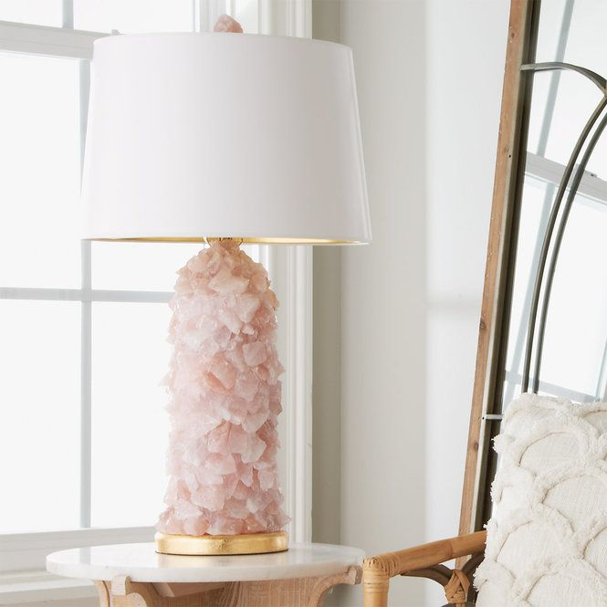 Rock Crystal Quartz Table Lamp Unique Table Lamps Table Lamp Crystal Lamp