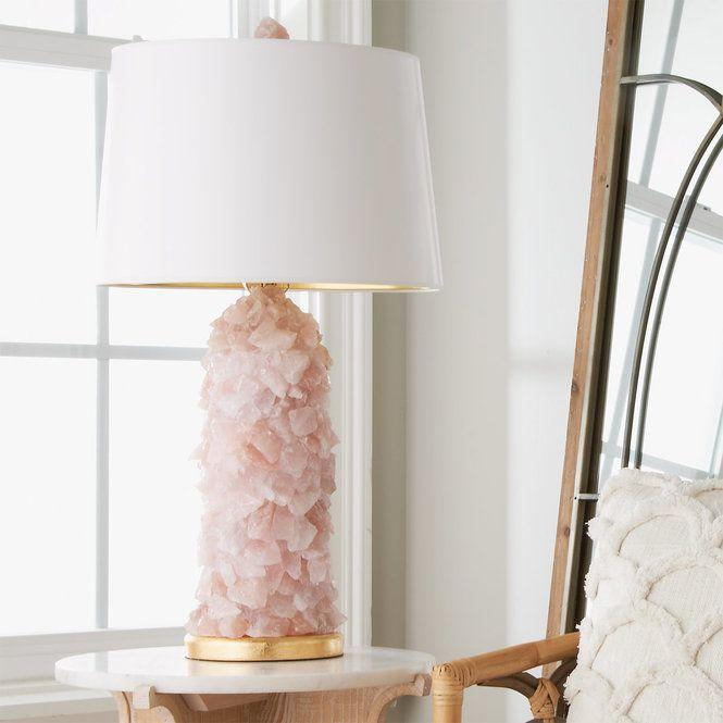 Rock Crystal Quartz Table Lamp Unique Table Lamps Table Lamp Lamp